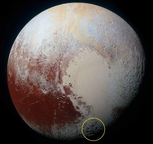 Pluto-Cryovolcanoes