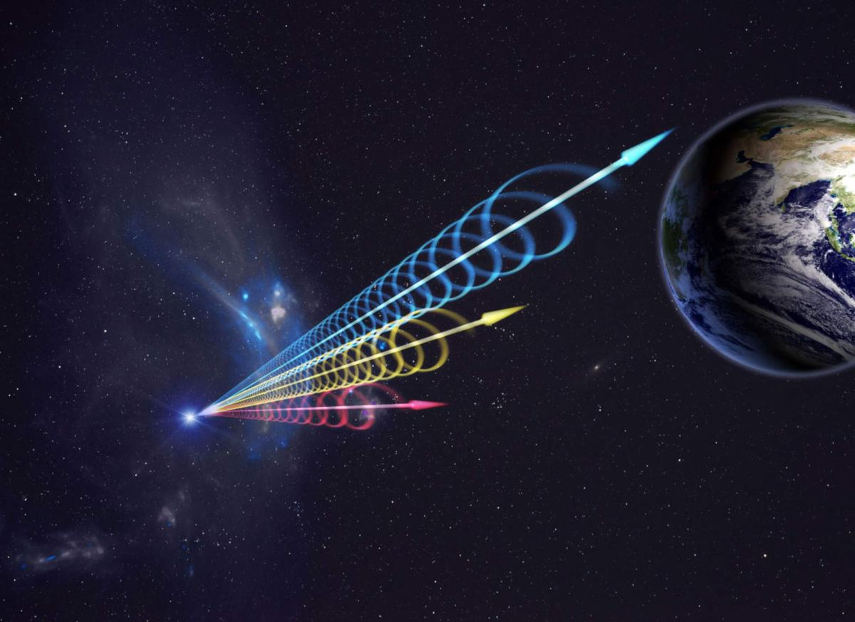 Source of Fast Radio Burst Detected For The First Time